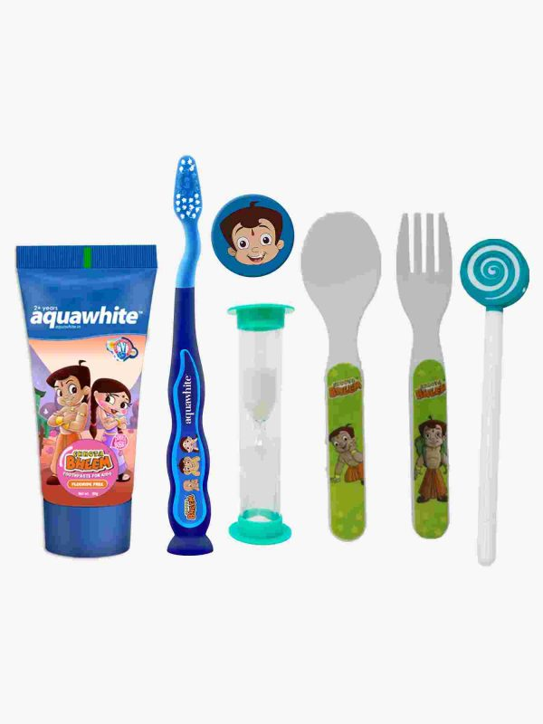aquawhite™ Kids Chhota Bheem Dubble Bubble Gift Pack