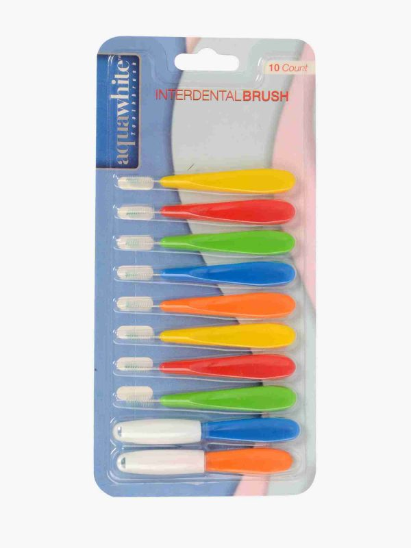 aquawhite interdental pack of 10