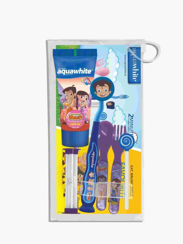 aquawhite™ Kids Chhota Bheem Dubble Bubble Gift Pack 3
