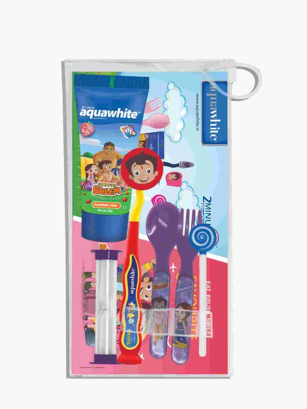 aquawhite™ Kids Chhota Bheem Strawberry Gift Pack 2