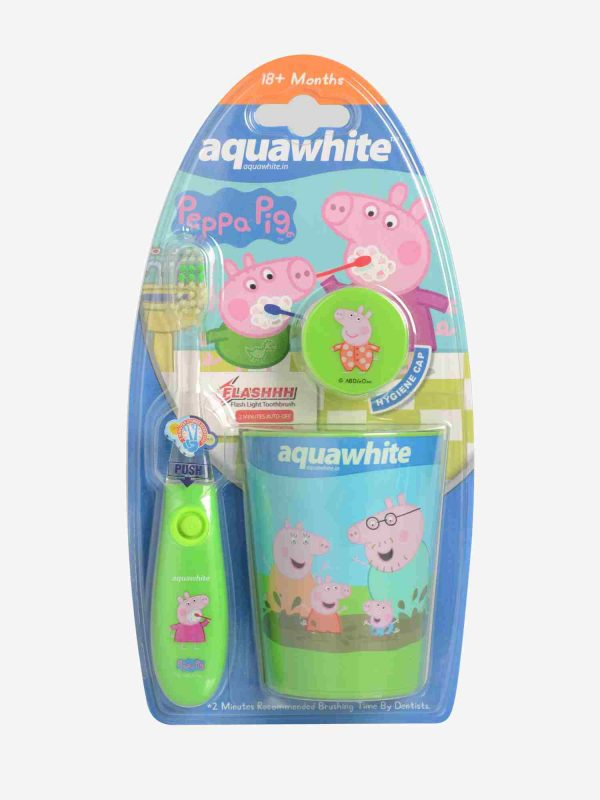 Peppa Pig green set of 3 front